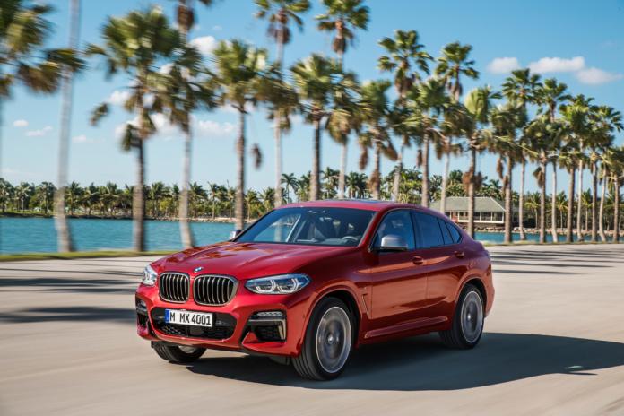 Der BMW X4 M40d