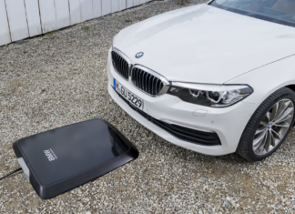 BMW 530e mit Wireless Charging