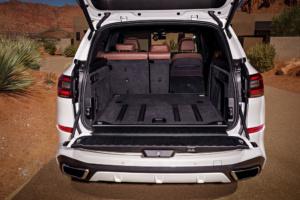 BMW X5 Kofferraum Gepäckraum Volumen