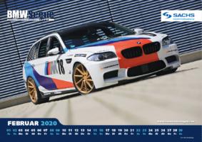 BMW SCENE LIVE Kalender 2020