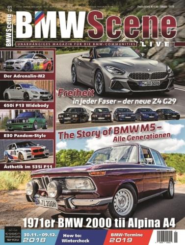 BMWScene LIVE, Ausgabe 1/2019