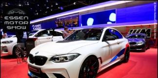 Der M2 Competition mit M Performance Parts am BMW SCENE Stand auf der Essen Motor Show 2018