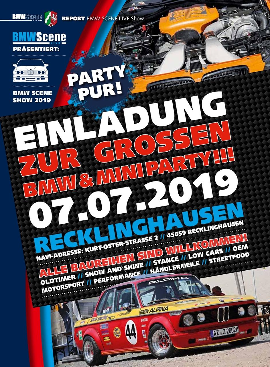 BMW Scene Show 2019 - Einladung