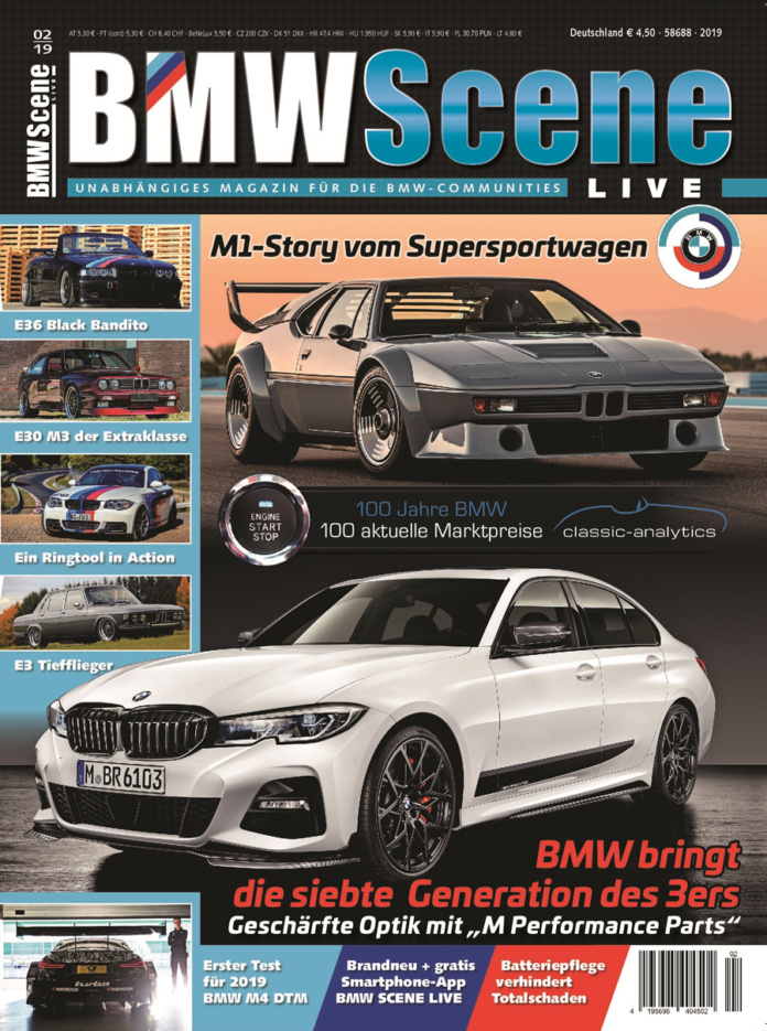 BMW SCENE LIVE 2/2019