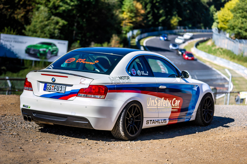 BMW 135i Coupé E82 - Unsafety Car