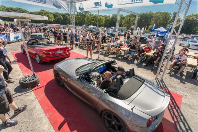 BMW Treffen in Recklinghausen. Die BMW Scene Show 2019 findet am 7. Juli 2019 statt.
