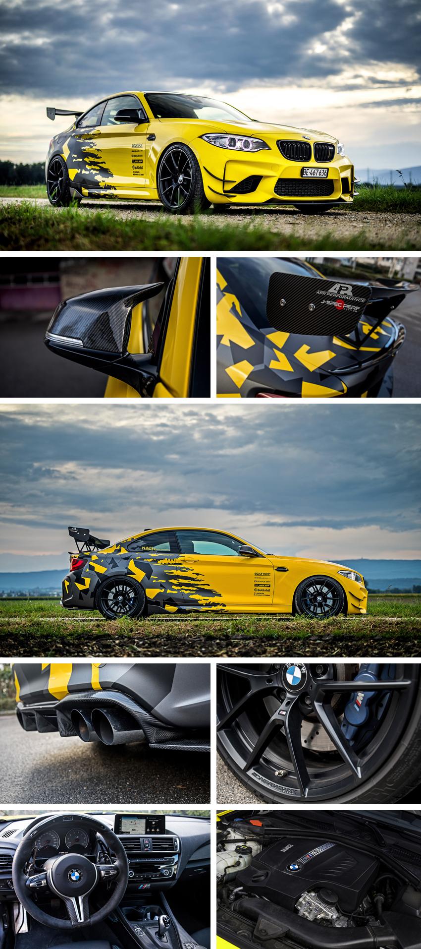2016er BMW M2 F87