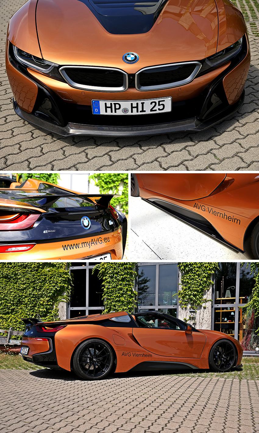 BMW i8 Roadster AVG & AERO Dynamics