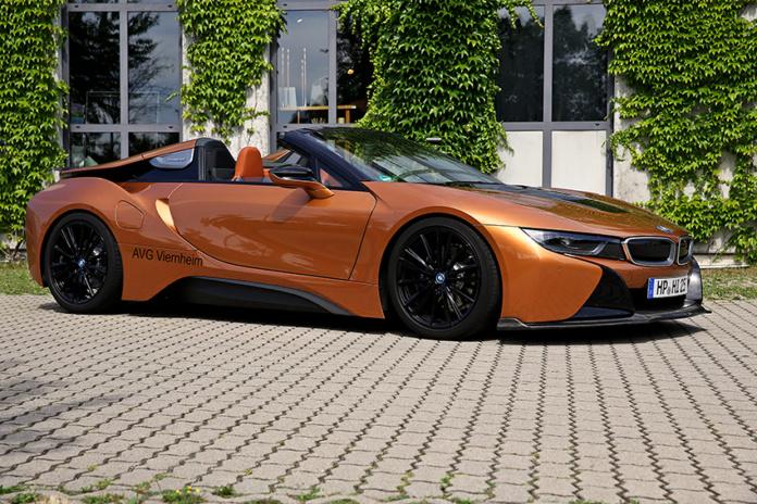 BMW i8Roadster AVG & AERO Dynamics