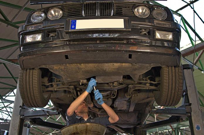 Ölwechsel BMW