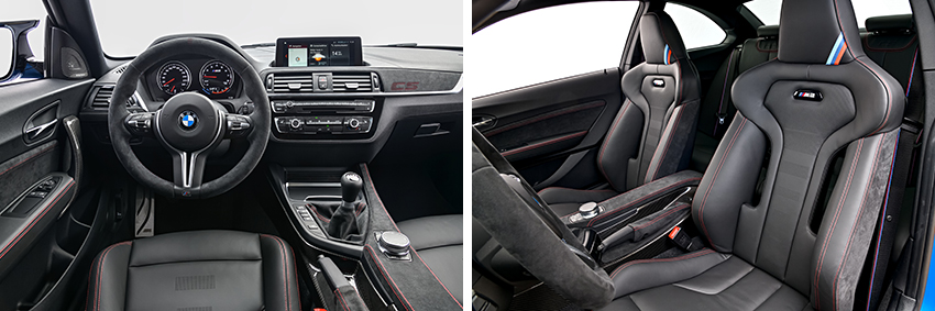 M2 CS Interieur