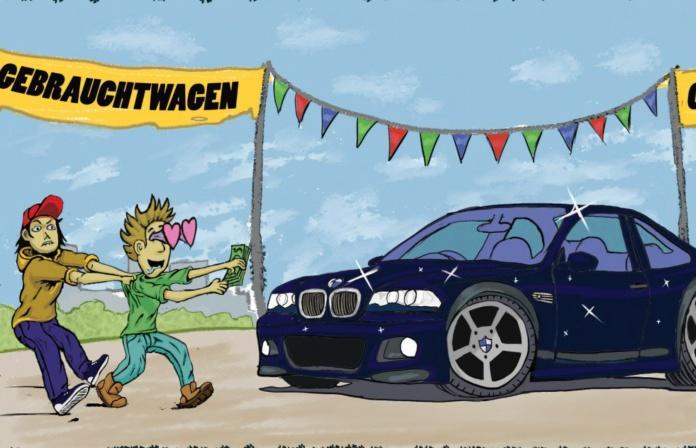 Gebrauchtwagenkauf BMW Scene live