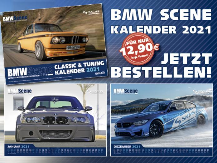 BMW SCENE Kalender 2021